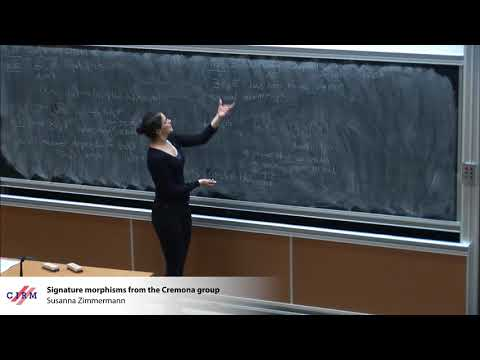 Susanna Zimmermann: Signature morphisms from the Cremona group