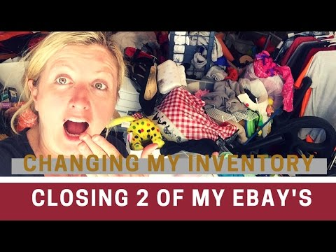 Closing 2 Of My EBAY Stores!! | My Inventory Is CHANGING