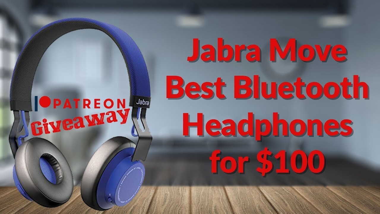 Jabra Move Best Bluetooth Headphones Under 100 Giveaway Youtube