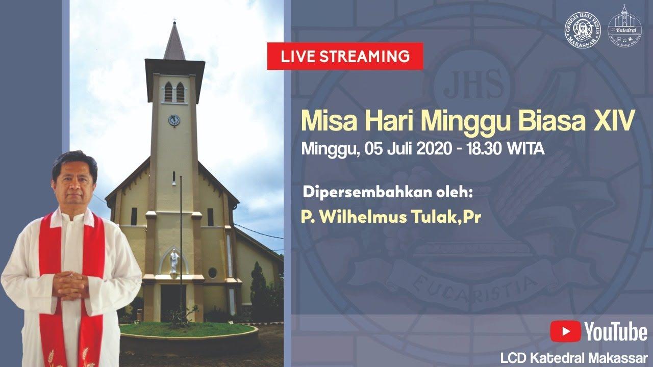 [LIVE] Misa Hari Minggu Biasa XIV 05 Juli 2020 Pukul 18.30 WITA - Gereja Katedral Makassar