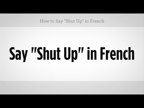 How do u say we have in french