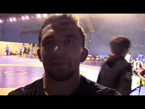 Nazar Kulchytskyy learning 'what it takes to be a World champion' from Jordan Burroughs