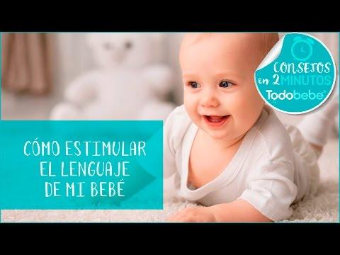 Cómo estimular el lenguaje de tu bebé