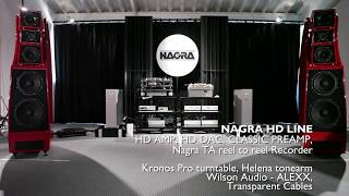 NAGRA AUDIO at the HIGH END in MUNICH 2017 - SET UP