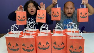 Don't Choose the Wrong Halloween Slime Bag Challenge