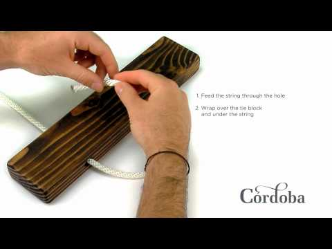 How to Change Strings on a Classical or Nylon String Guitar