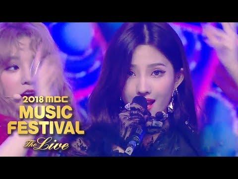 (G)I-DLE - Latata [2018 MBC Music Festival]