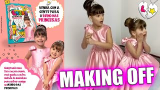 LAURINHA E HELENA MAKING OF DO LIVRÃO CLUBINHO DA LAURA ❤️ JÉSSICA GODAR, LAURINHA E HELENA