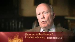 Julian Fellowes Interview about Downton Abbey Pt. 1