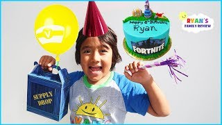 Ryan's Birthday Party with Friends and opening presents!!!!