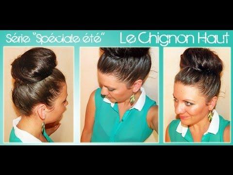 Le chignon haut - Série Spéciale Eté - Coiffure #3 | L.A Hairstyle Inspiration - YouTube