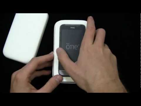 HTC One V Unboxing