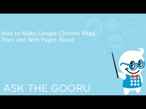 How to Make Google Chrome Read Docs and Web Pages Aloud