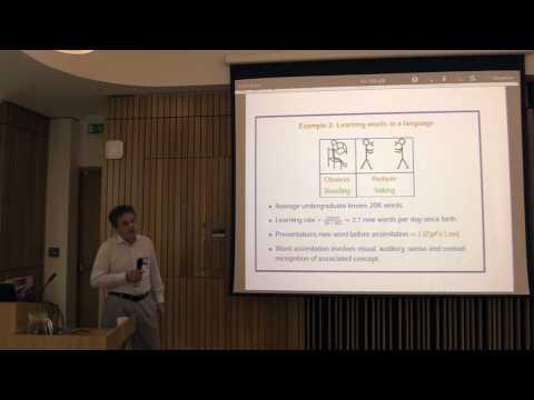 Stephen Muggleton - Logic based and Probabilistic Symbolic Learning (2nd ESSENCE Summer School)