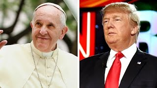 Pope Francis releases official statement on President Trump HD