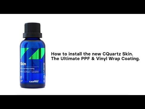 How to install CQuartz Skin ceramic coating on your Paint Protection Film & Vinyl Wrap!