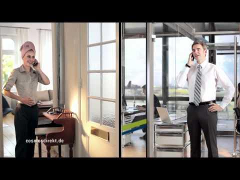 CosmosDirekt Versicherung - TV Spot Herr Kaiser - YouTube