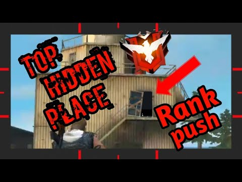 FREE FIRE BEST HIDDEN PLACES IN PEAK||ONLY 0.01% PLAYERS KNOW ABOUT THIS HIDDEN PLACE FREE HIDE.