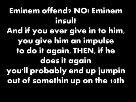 Eminem - Kill You (Clean) [Lyrics]