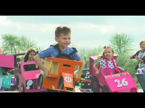 The greatest spectacle in kindergarten racing