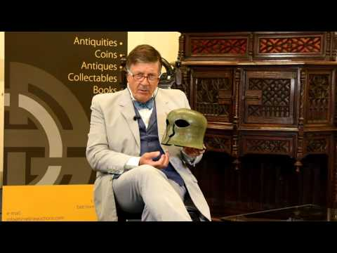 77202 Greek Corinthian Helmet 1567 with Tim Wonnacott