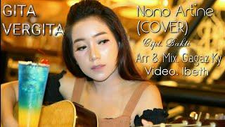 NONO ARTINE - GITA VERGITA (Acoustic Version Cover) [Video Music Official]