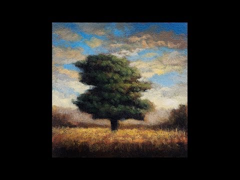 October 5×5 Redo Tonalist Landscape Oil Painting Demonstration