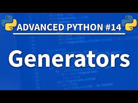 Generators in Python - Advanced Python 14 - Programming Tutorial thumbnail