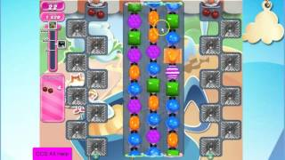 Candy Crush Saga Level 1597 NO BOOSTERS