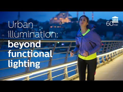 Urban illumination: beyond functional lighting (Elke den Ouden)
