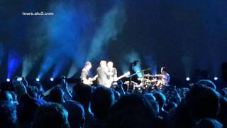 "U2 performs a new song called ""The Little Things That Give You Away..."
