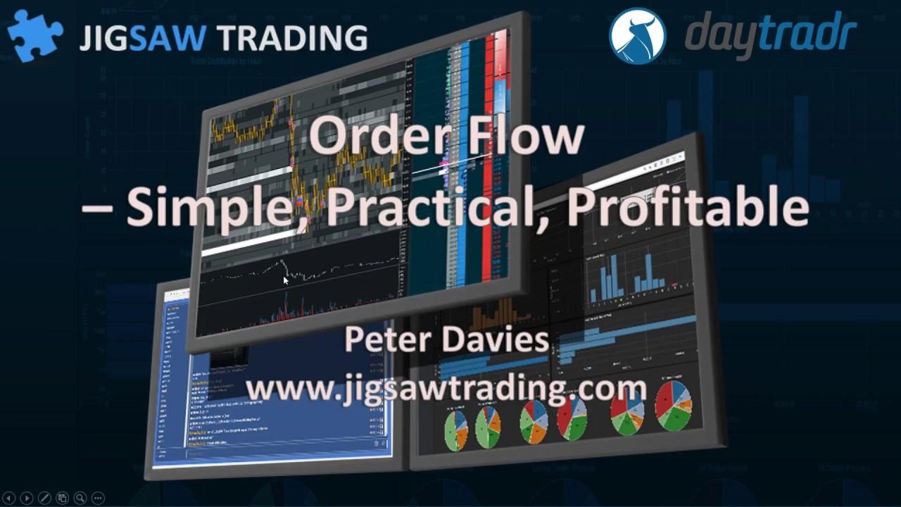 Traders Talk Live (webinar) - Order Flow: Keeping It Simple