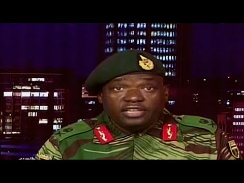 [ WATCH] Zimbabwe Military: We are not taking over
