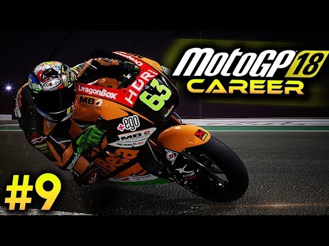 Motogp 18 Career Mode Part 9 Moto2 Qualifying Motogp 2018 Game
