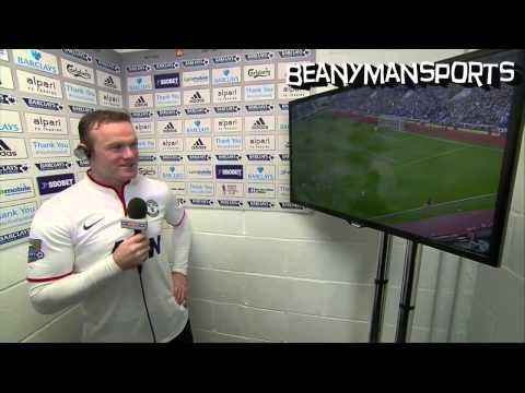 Wayne Rooney Post Match Interview ''Better than Beckham's Goal'' - West Ham 0-2 Manchester United