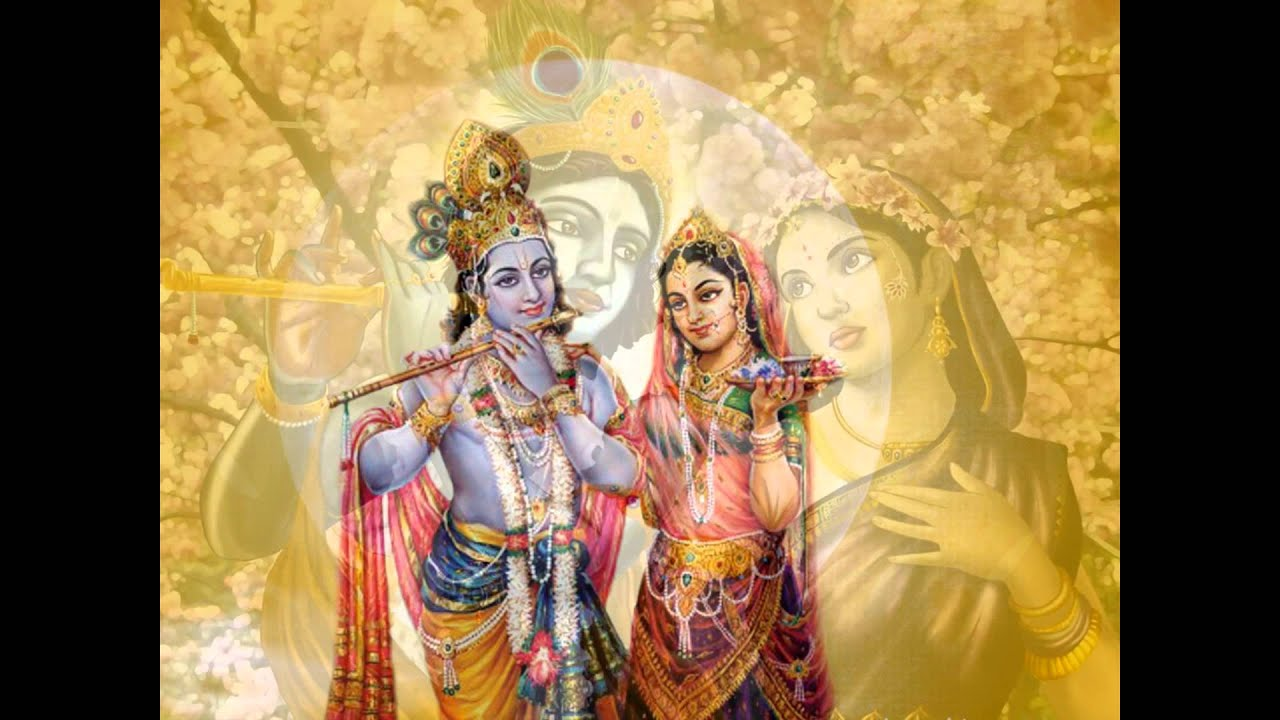 God Radha Krishna Wallpapers Youtube