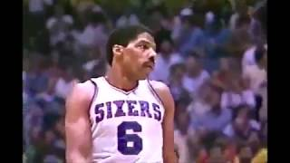 Julius Erving - 1982 NBA Final Plays