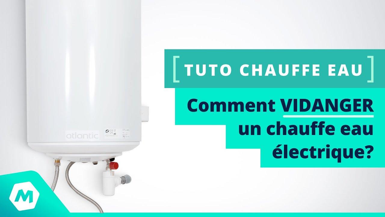 Comment vidanger un chauffe eau lectrique tutoriel chauffe eau manomano - Vidanger un chauffe eau electrique ...