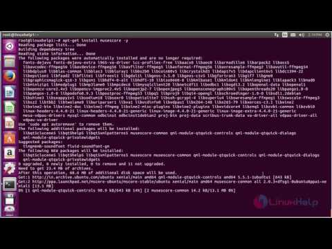 How to install MuseScore in Ubuntu