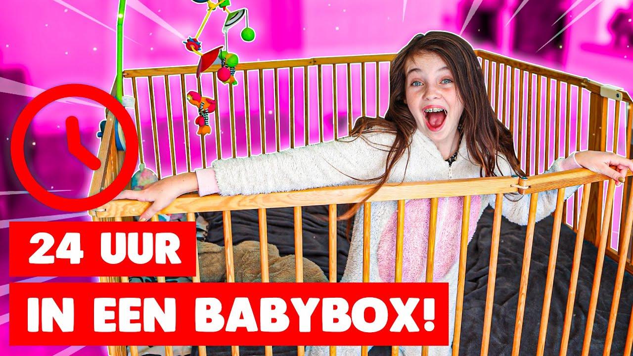 24 UUR OVERLEVEN IN EEN BABYBOX - Bibi