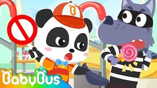 Pretend Play - Supermarket Clerk | Jobs Song for Kids | Nursery Rhymes | Kids Songs | BabyBus