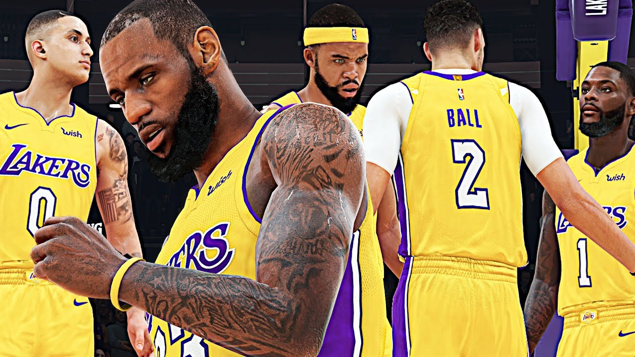 26597966b The NEW LOOK LAKERS