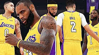 The NEW LOOK LAKERS | NBA 2K19 Rosters