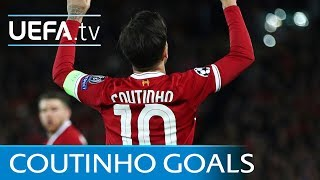 Philippe Coutinho - Five great goals