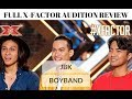 JBK Philippine Boyband FULL X-Factor AUDITION Review | #JANGReacts