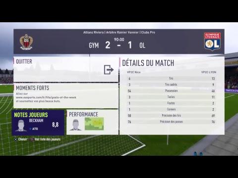 Match de compétition fifa18