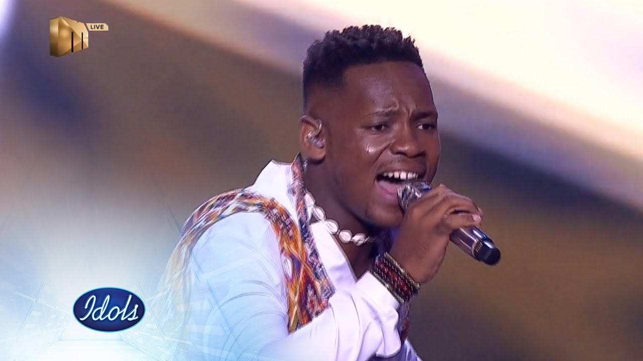 Top 2 Mr Music Into Ngawe Idols Sa S16 Live Shows Mzansi Magic Youtube