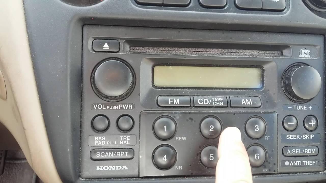 2001 Honda Accord Radio Code >> Howtogetstartedflippingcarslegally