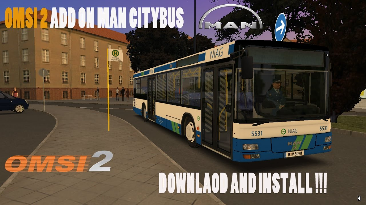 [OMSI 2] ADD ON MAN CITYBUS DOWNLOAD AND INSTALL FREE !!! FINALLY !!!