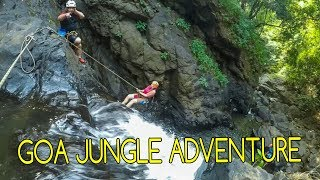 INDIEN - Goa Jungle Adventure -Abseiling und Canyoning - Mogroach